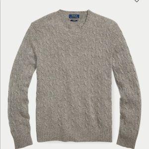 Men's Ralph Lauren 100% cashmere cableknit sweater